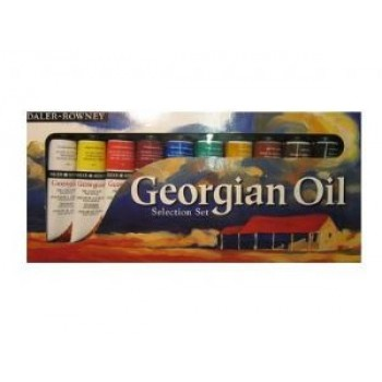 Daler Rowney Georgian Oil Selection set